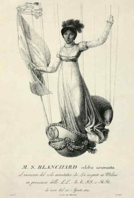 Sophie Blanchard, célèbre aéronaute