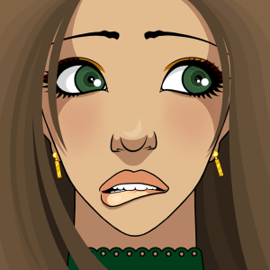 Timidité : difficulté à parler aux autres - femme gênée se mordant la lèvre