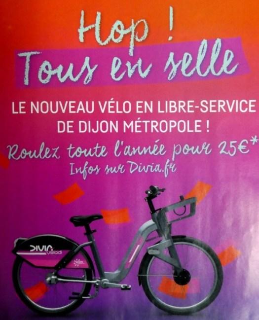 location de vélos dijon et alentours
