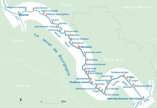 canal tourisme fluvial croisière