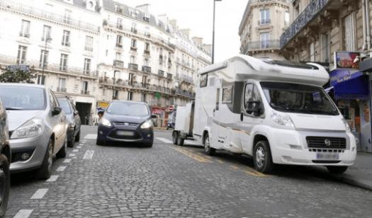 stationner camping-car en ville