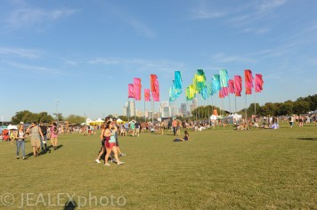 The Crowd and Atmosphere at Austin City Limits Music Festival 2015 in Austin, Texas on Friday, October 2.