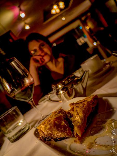 Dessert at Churchill's