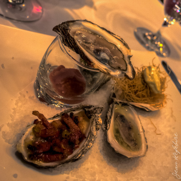 Delectable assortment of Oysters!