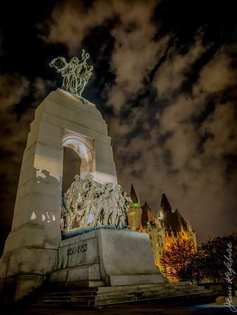 War statue in Ottawa