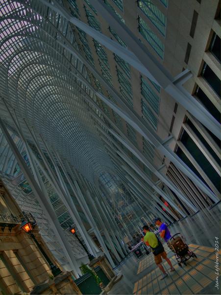 Mall interior, Toronto