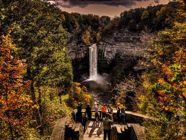 Waterfalls in Finger Lakes New York