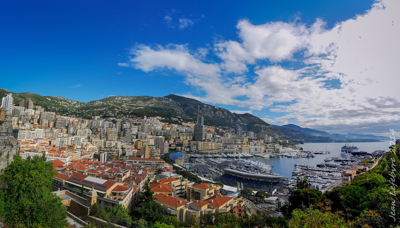 a very small principality on the French Riviera