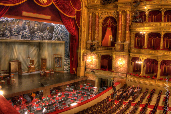 Orchestra pit at Budapest State Opera House