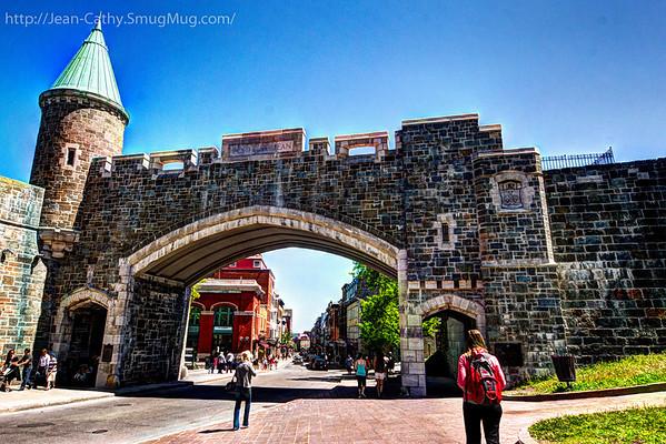 Gates to Old Quebec