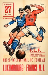 Luxembourg contre France N.-E.