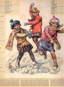 Calendrier allemand 1928