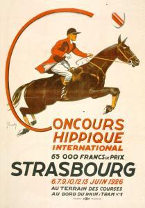 Concours hippique international, 65 000 F de prix, 6-7-9-10-12-13 juin 1926