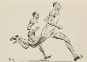 800m, Men - John Woodruff & Phil Edwards
