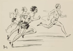100 M, finale der Frauen