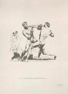 Le boxeur Laodamas