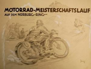 Motorrad - Meisterschaftslauf - Front