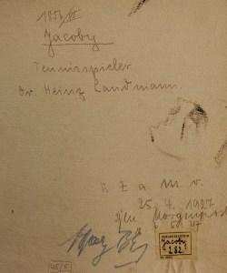 Heinz Landmann - Back