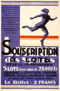 Loterie des sports, souscription a lots