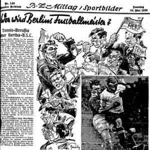 Wer wird Berlins Fussballmeiser?