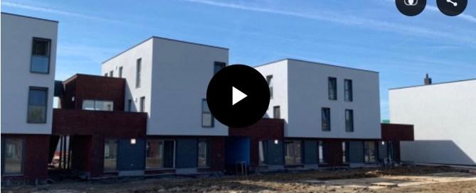 Des nouveaux logements publics à Liers (c) RTC