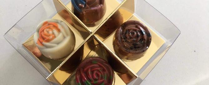 chocolats une rose pour la vie