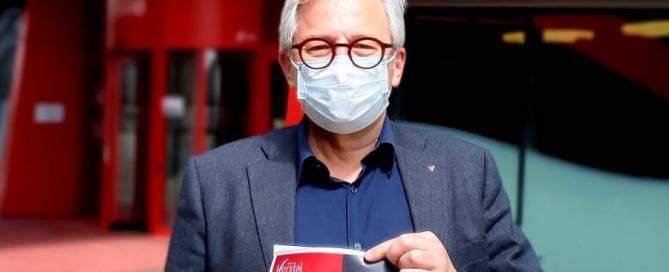 Jean-Louis Lefebvre Bourgmestre Herstal vaccin action