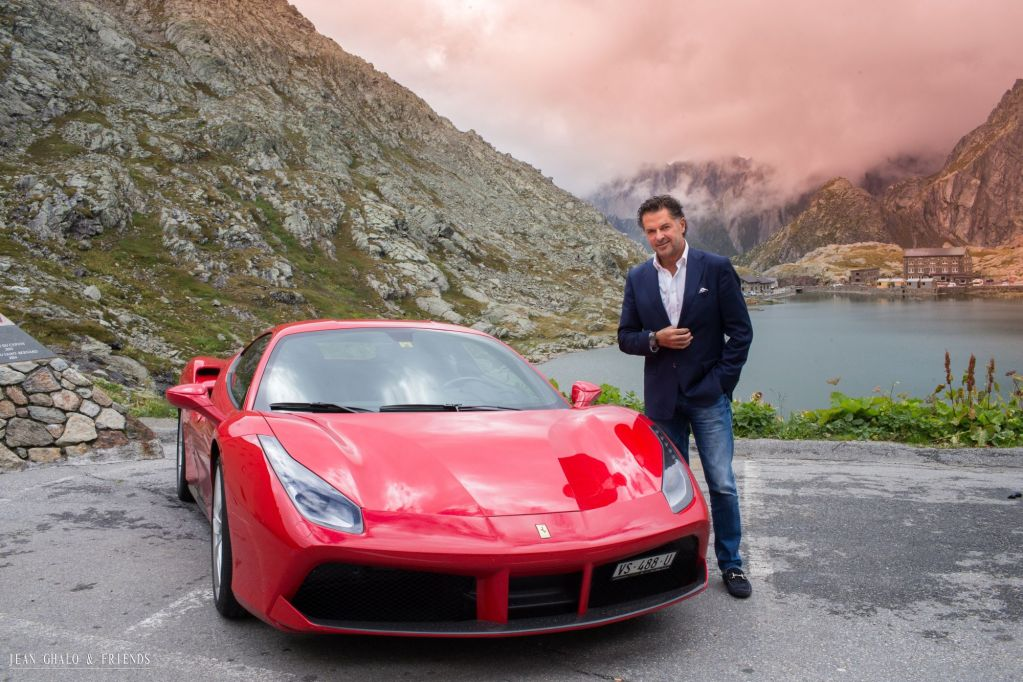 Hublot Ragheb Ferrari Swiss Alps Road Trip By Jean Ghalo