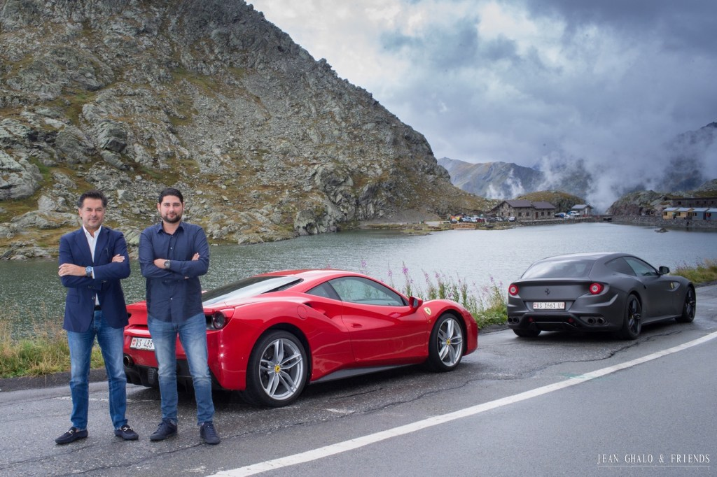Hublot Ragheb Ferrari Ride Swiss Alps By Jean Ghalo