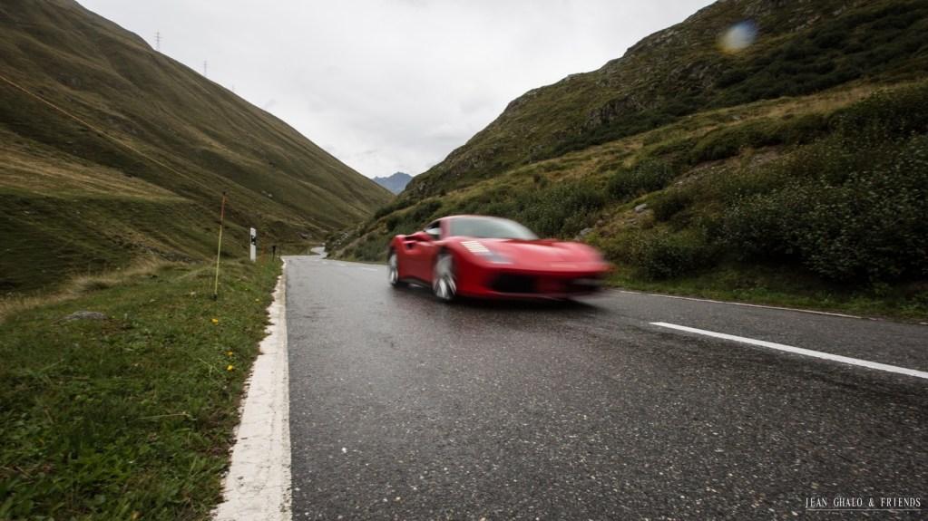 Hublot Ragheb Ferrari Swiss Alps Road Trip