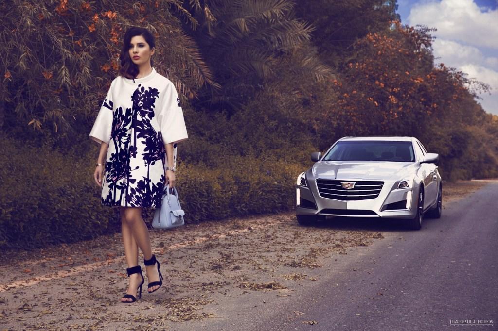Snob Magazine Cadillac Shoot with Lamita FRANGIEH