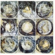 Montage de 9 Modules, 1990 (Saturne)