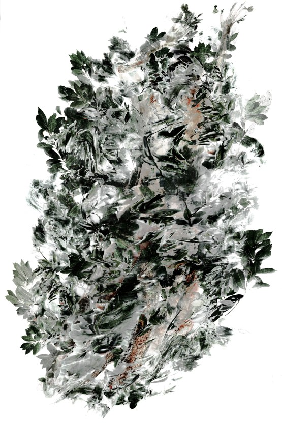 2017-La flèche de plomb 02, 200 x 137 cm