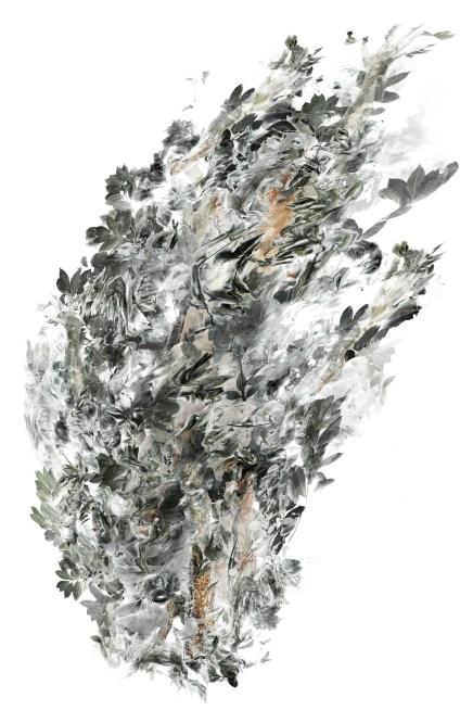 2017-La flèche de plomb 03, 200 x 137 cm