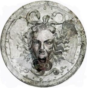 2018-Méduse & Cie 05, impression digitale sur acier inox, diamètre 100 cm.