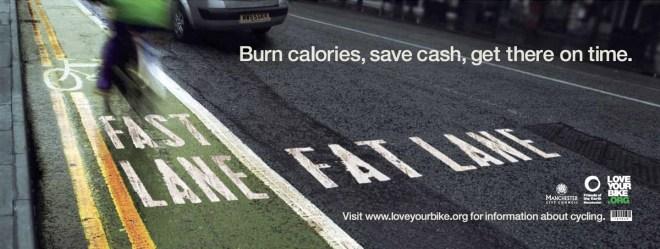 fast lane fat lane