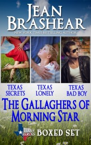gallaghers of morning star boxed set texas romance jean brashear