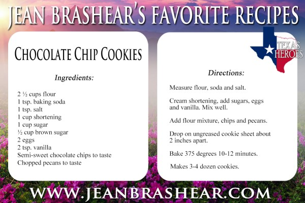 Classic Chocolate Chip Cookies Recipe by Jean Brashear