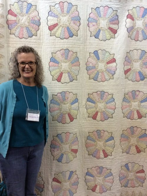 My Great-Grandmother and the Dresden Plate Pattern Quilt by Jean Brashear