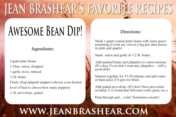 Awesome Bean Dip by Jean Brashear