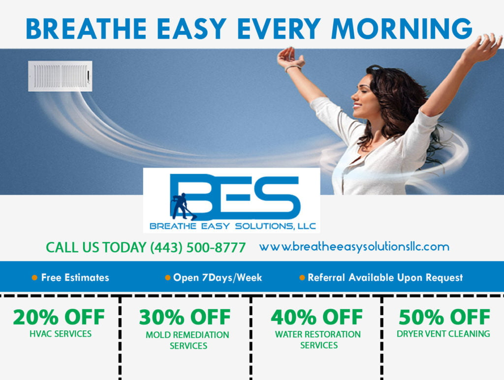 Breathe Easy Coupon Design