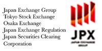 Logo of JPX Japan Exchange Trade Organization