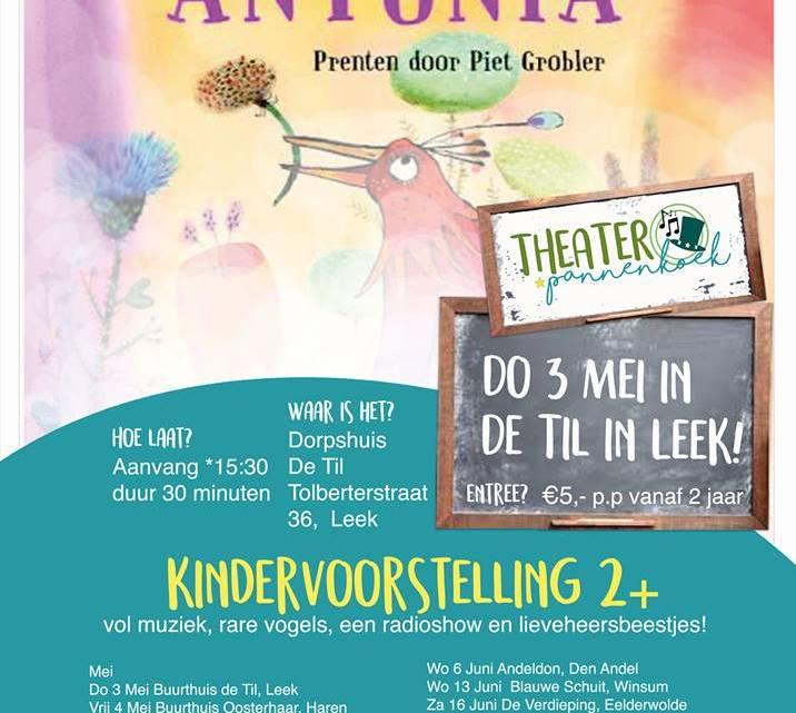 Gastblog met winactie: Theater pannenkoek! Heerlijk kindertheater.