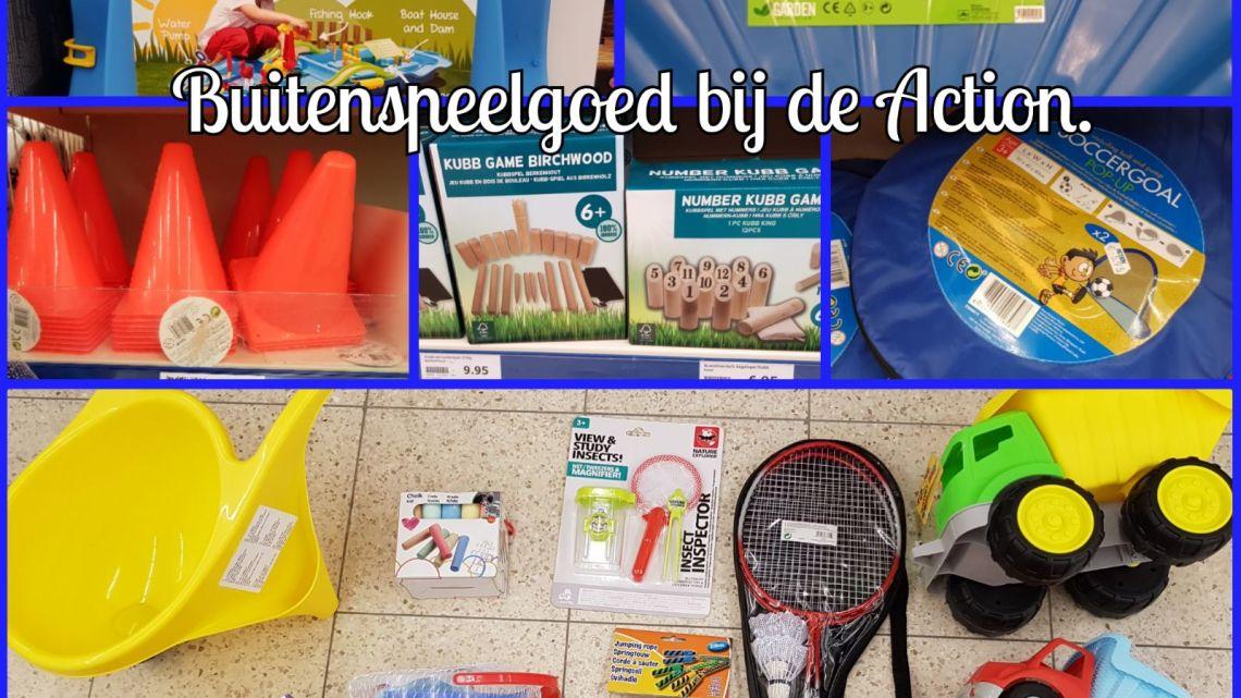 Buitenspeelgoed Bij De Action Jeanetblogt