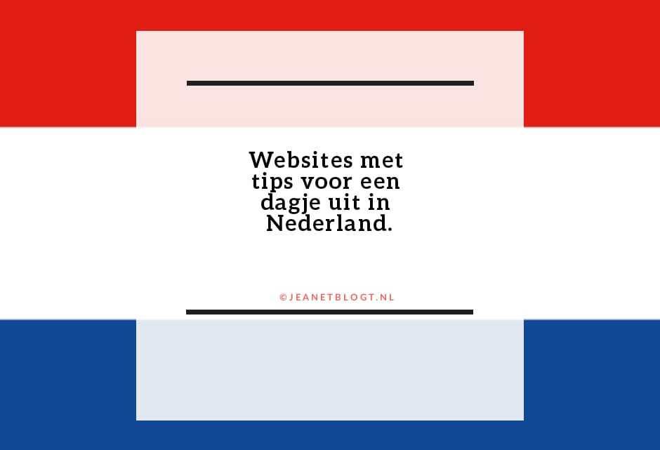 Landelijke websites met tips voor een dagje uit.