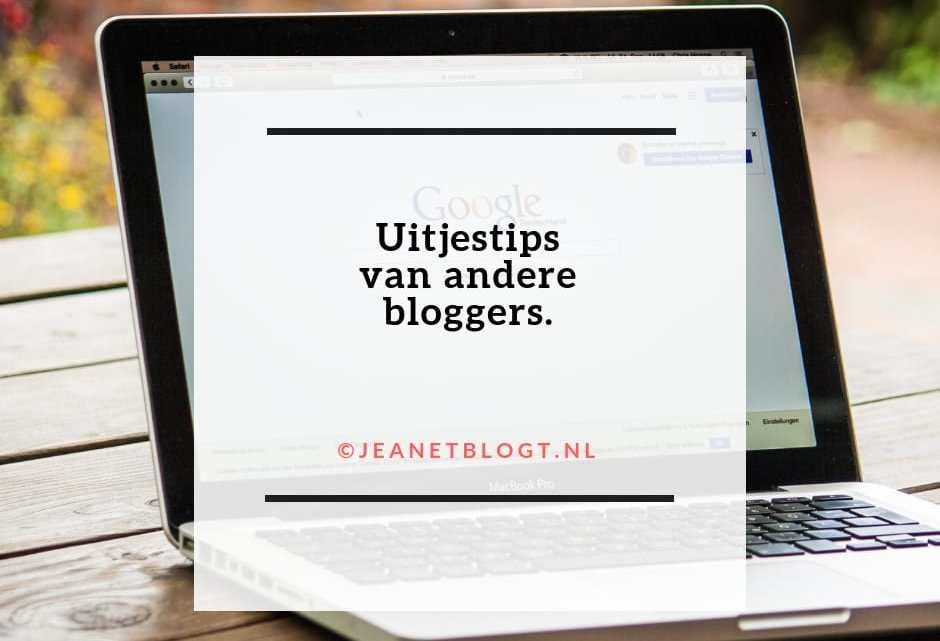 Uitjestips van andere bloggers