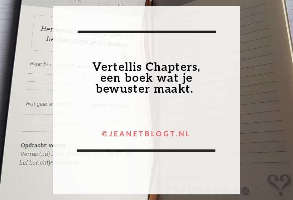 Vertellis Chapters, een boek wat je bewuster maakt.