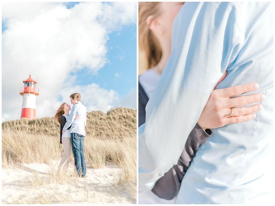 verlobungsfotos auf Insel Sylt hochzeitsfotografin Jeanette Merstrand