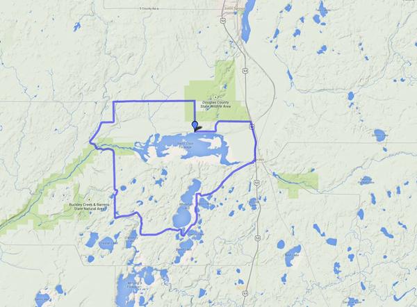 Favorite NW Wisconsin Bike Routes: The Gordon Flowage, Bass Lake Road, Whitefish Lake, Lost Lake, Saint Croix River Loop