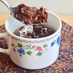 Flourless Bailey S Chocolate Mug Cake Jeanie And Lulu S Kitchen
